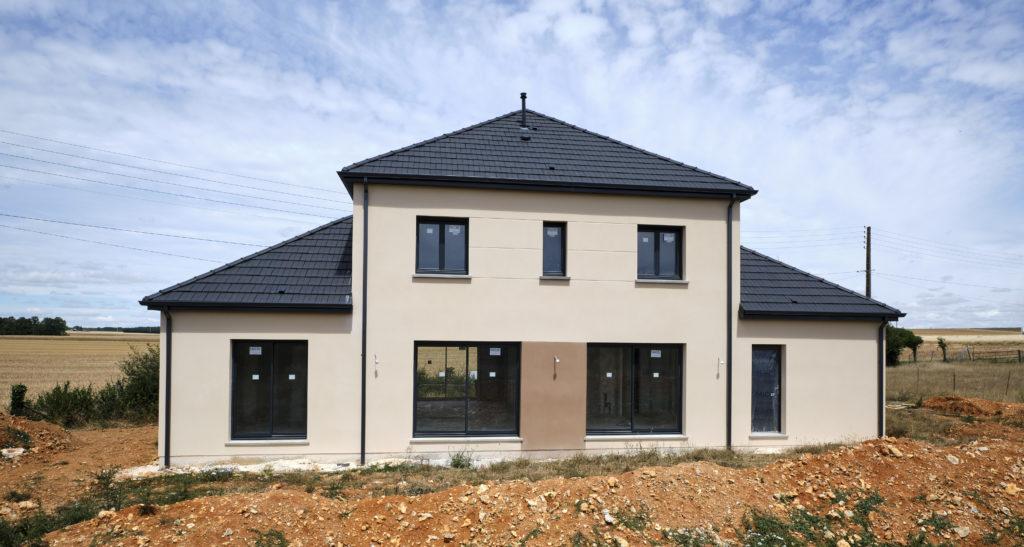 construction maison neuve à Marcheville